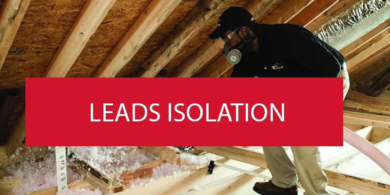 leads isolation