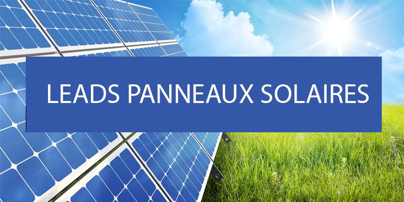leads panneaux solaires